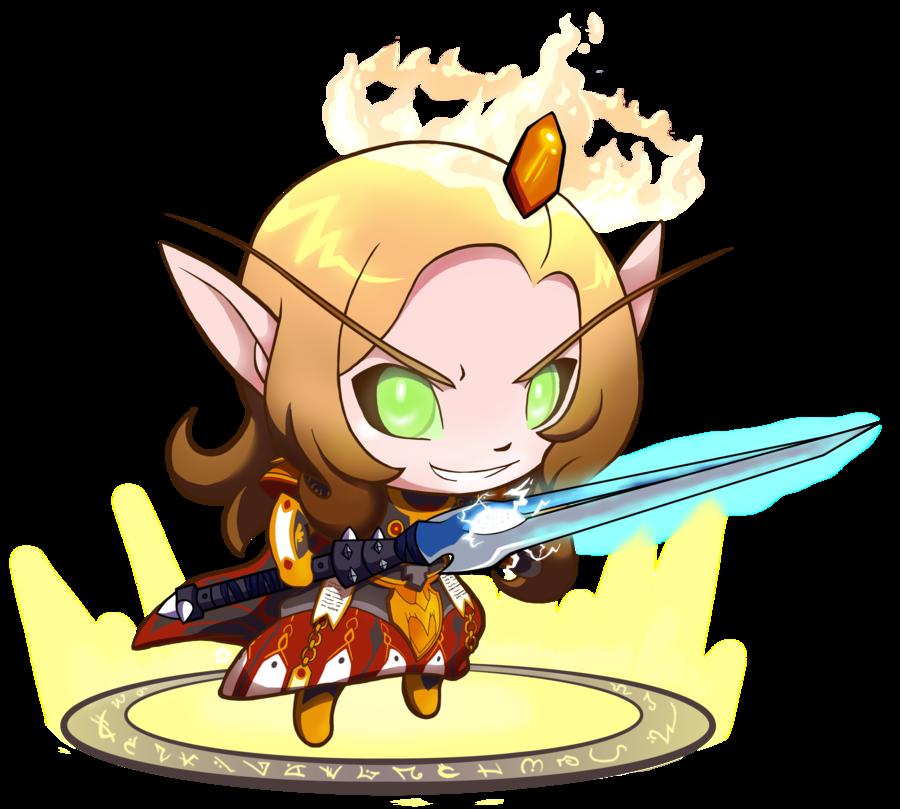 Tiny of the holy. Warrior clipart paladin