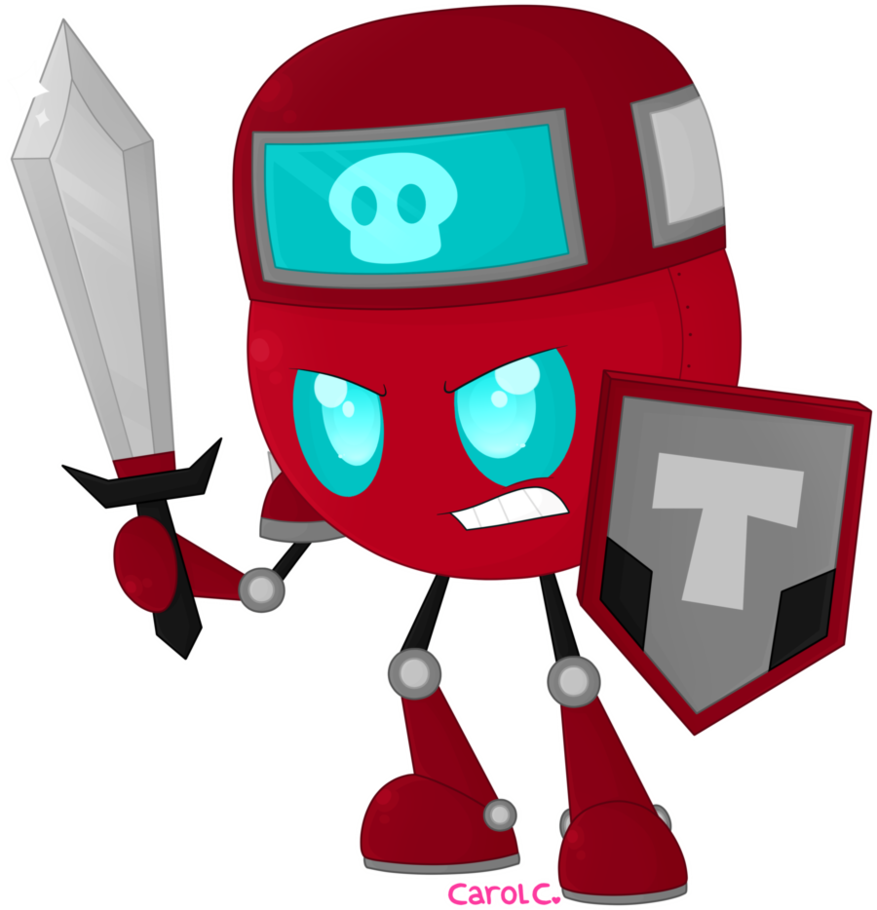 Commission we are the. Warrior clipart robot