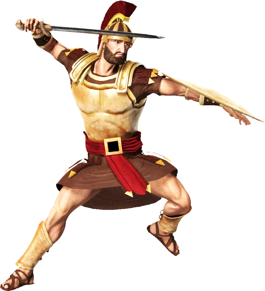 Warrior clipart roman centurion. Hairmam the time traviling