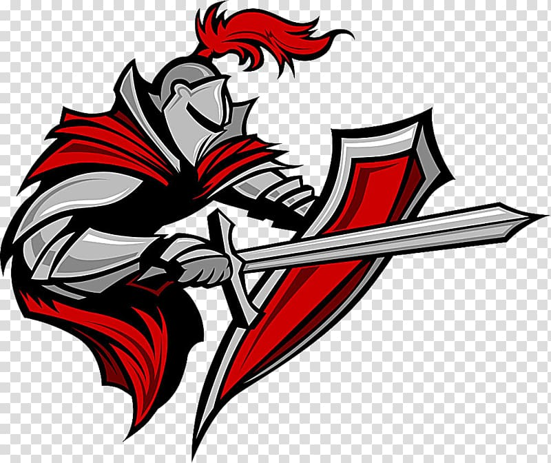 Warrior clipart shield. Knight his transparent background