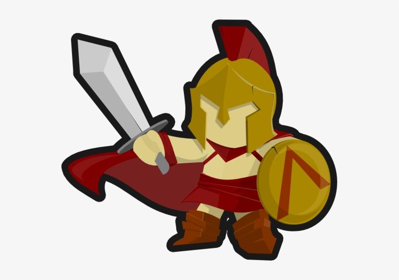 Warrior clipart soilder. Sparta spartan soldier free