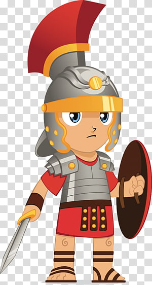 Ancient drawing roman army. Warrior clipart soldier rome