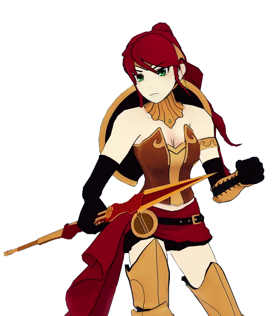 Pyrrha nikos character profile. Weight clipart injustice