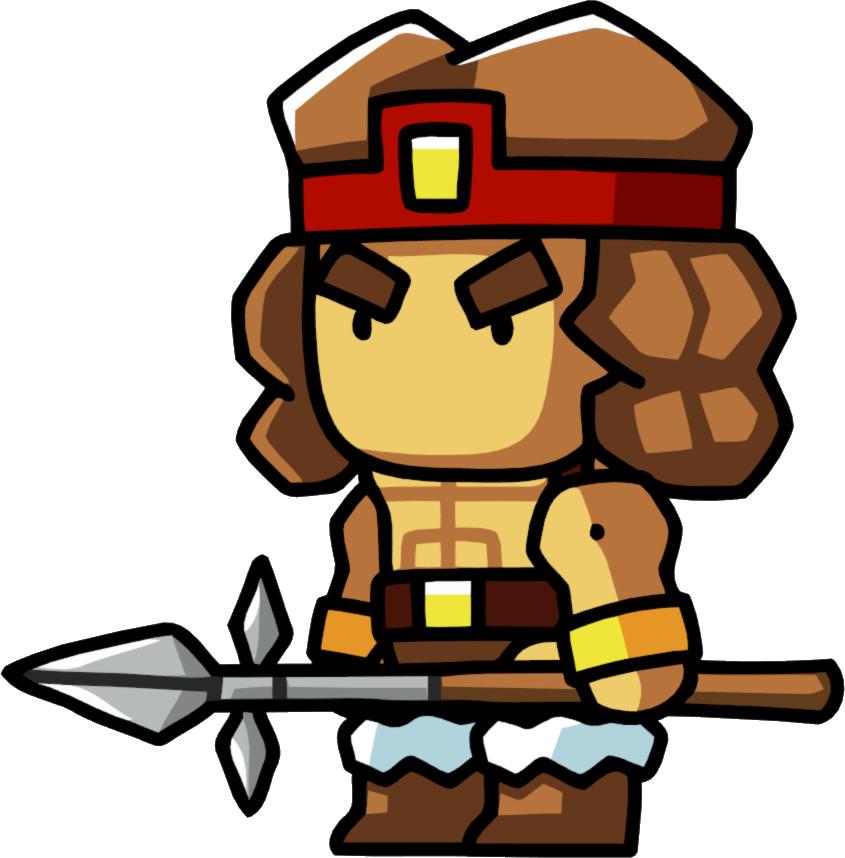 Scribblenauts wiki fandom powered. Warrior clipart spear