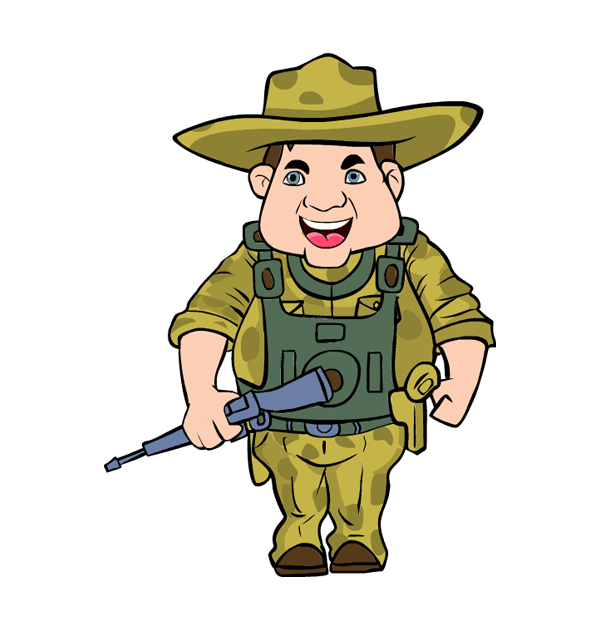 Warrior clipart sport. Free soldier cliparts download