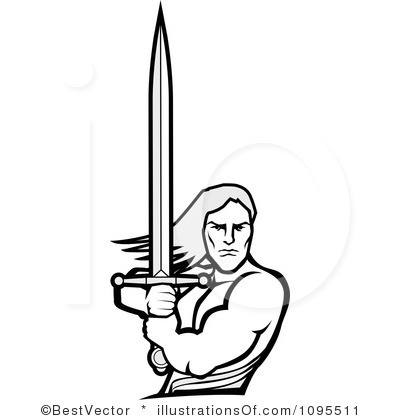 Warrior clipart strong warrior. Rf panda free images