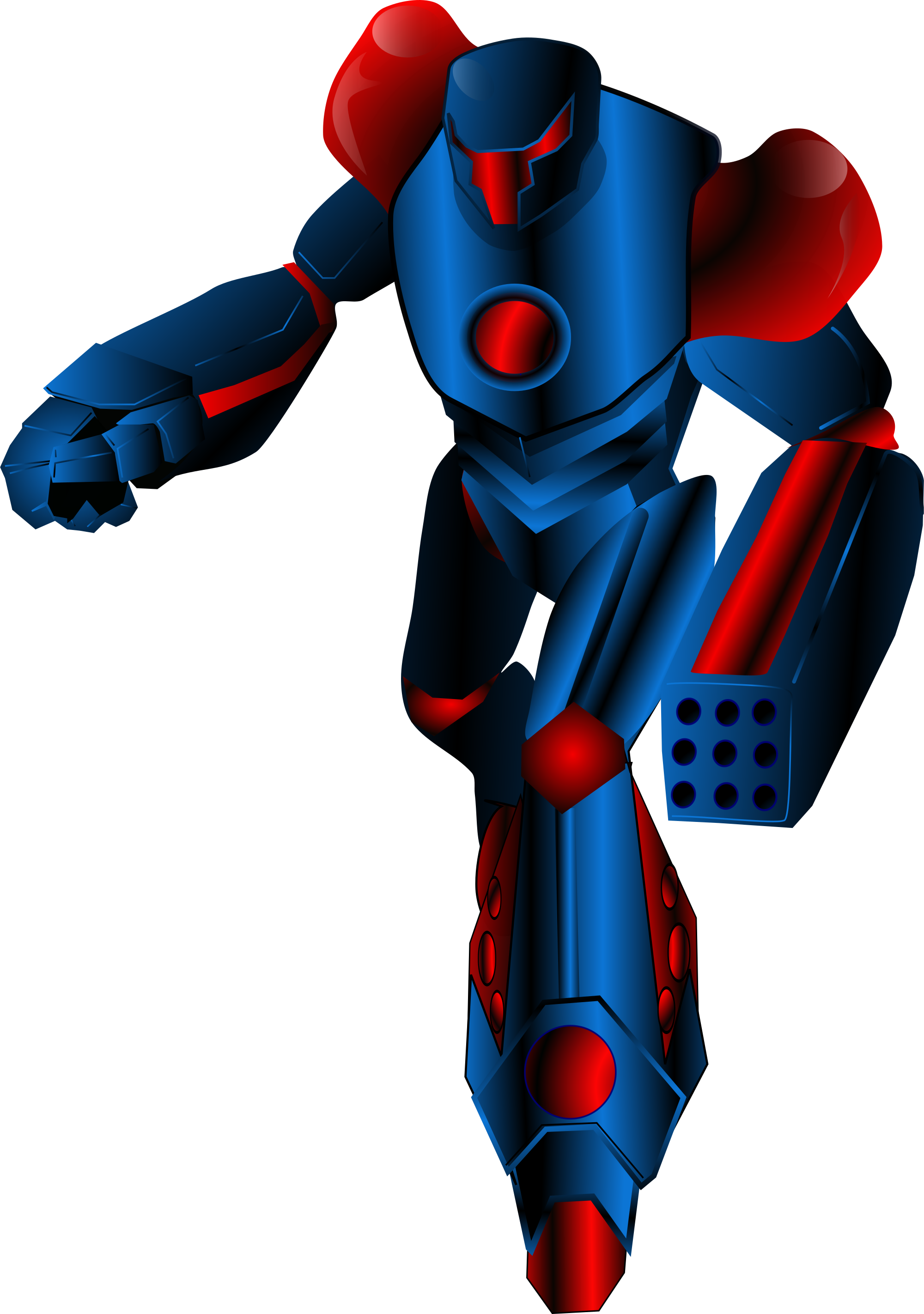Warrior clipart svg. File mecha wikimedia commons