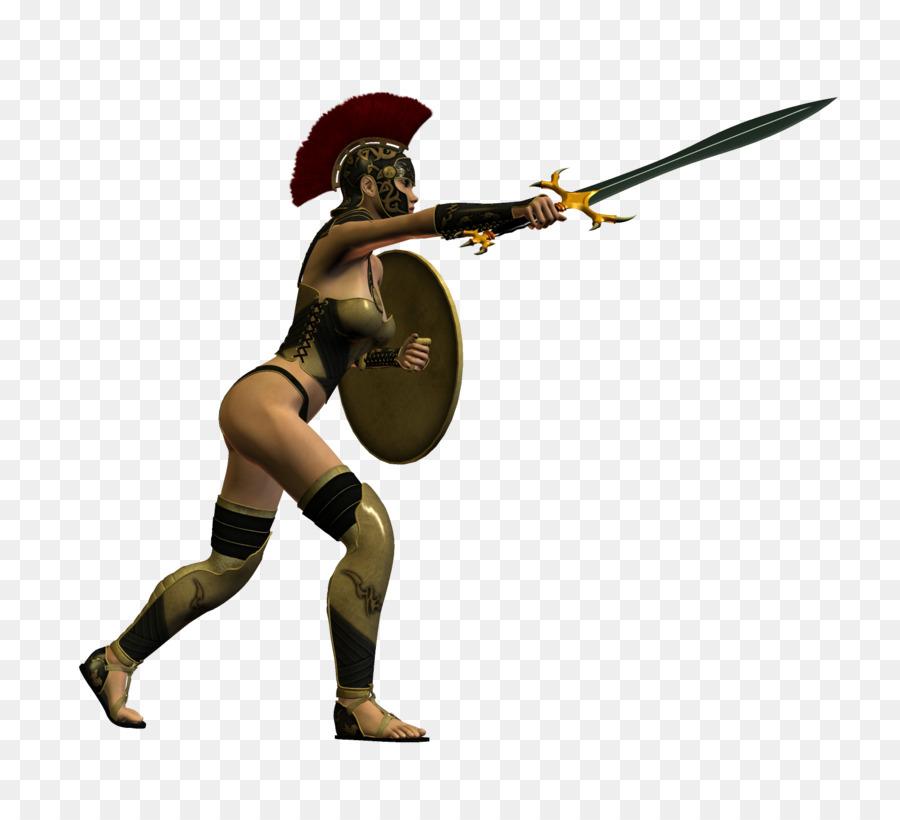 Warrior clipart sword clipart. Pixel art woman transparent