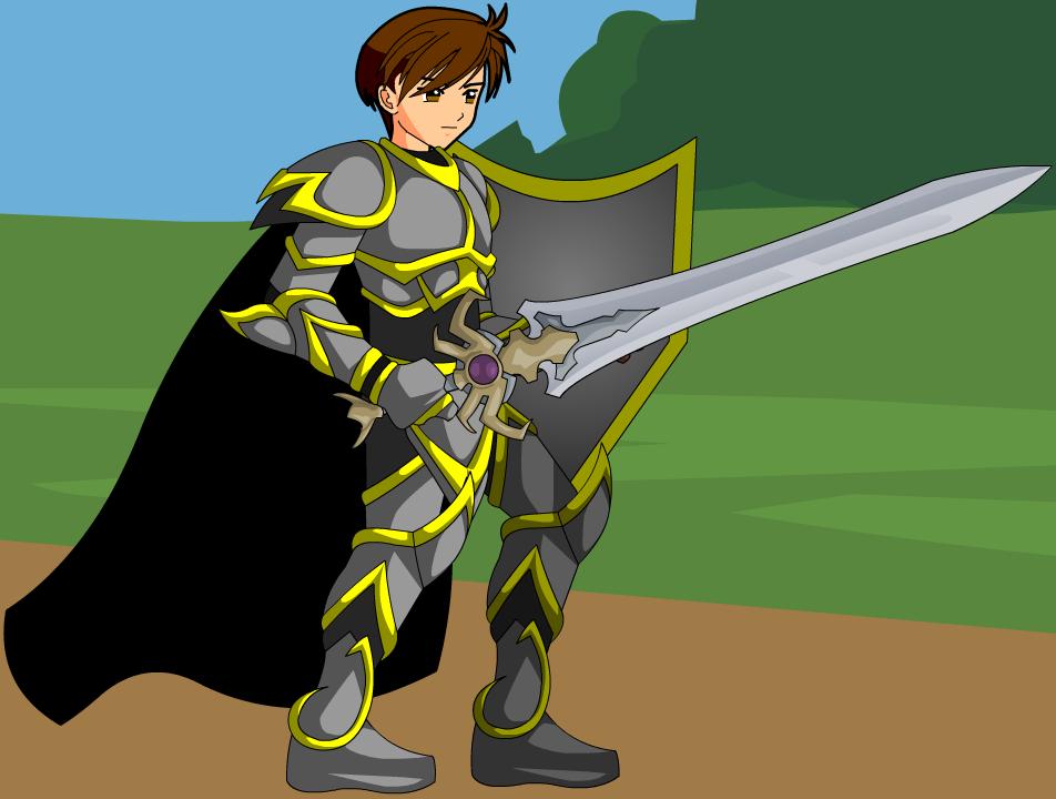 Image guardian png adventurequest. Warrior clipart sword clipart