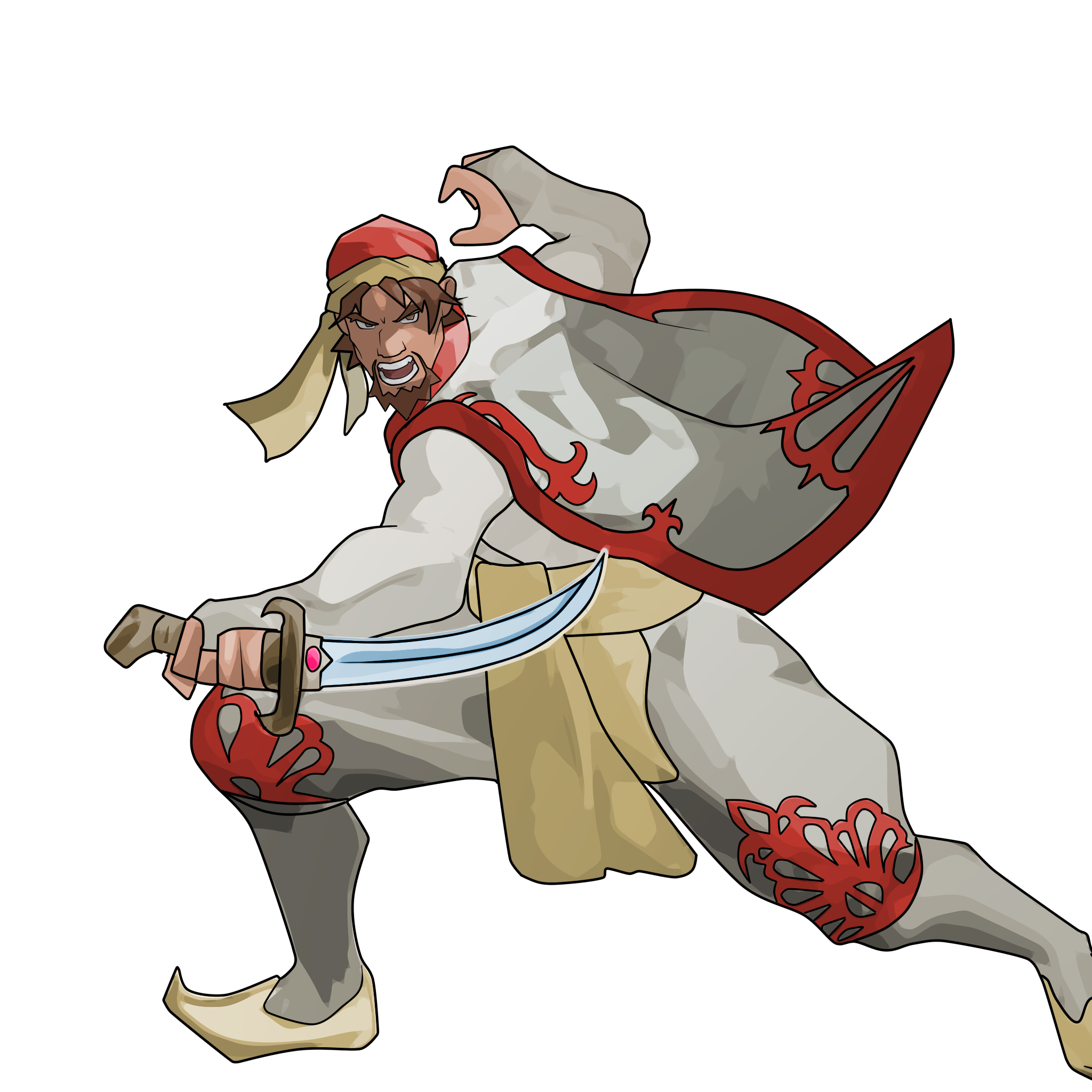 Warrior clipart traditional thai. Slashers the power battle