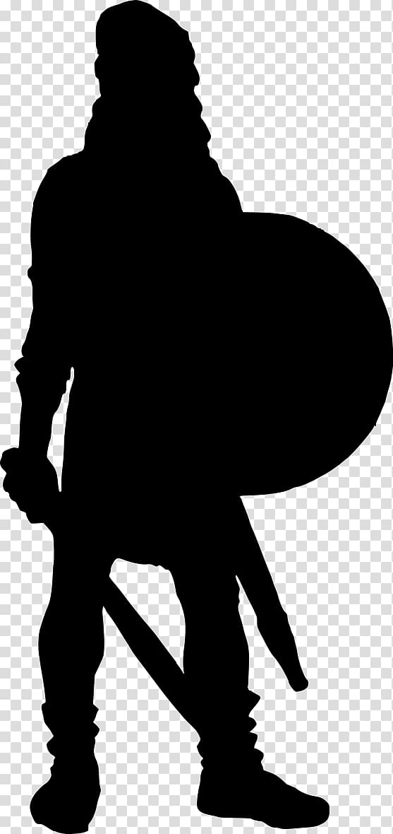 Silhouette background png . Warrior clipart transparent