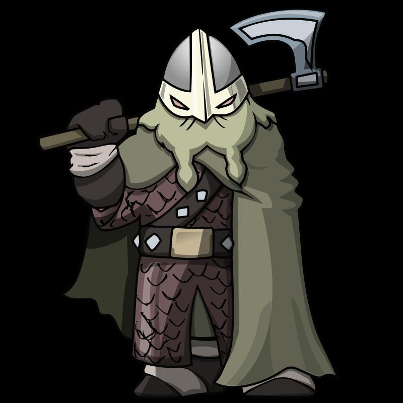 Warrior clipart viking. Attack the tower medium