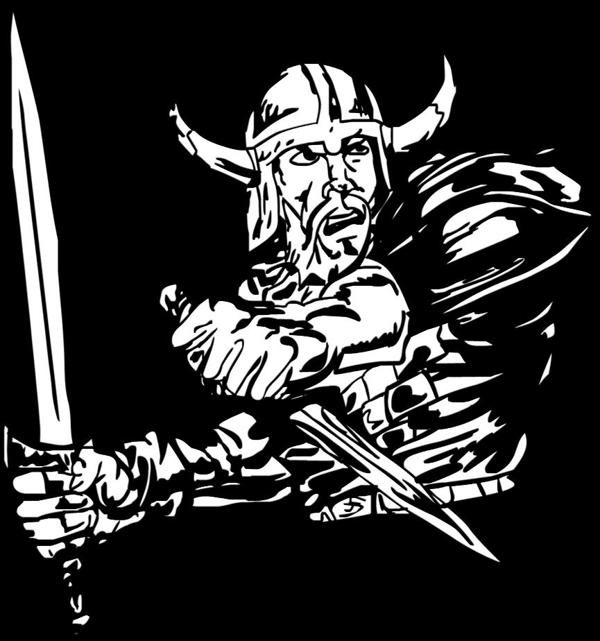 Warrior clipart viking. By atahandemir on deviantart