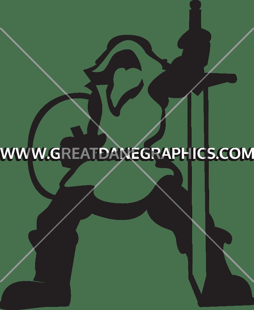 Norse production ready artwork. Warrior clipart viking man