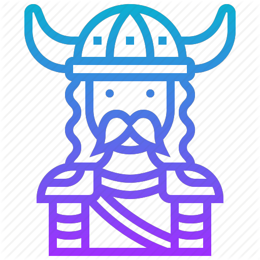 Warrior clipart viking man.  game characters by