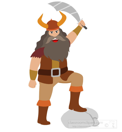 Warrior clipart viking man. Free vikings clip art