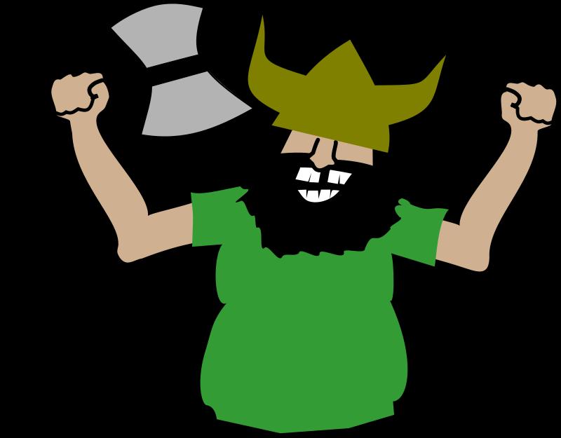 Warrior clipart viking person. Clipartix