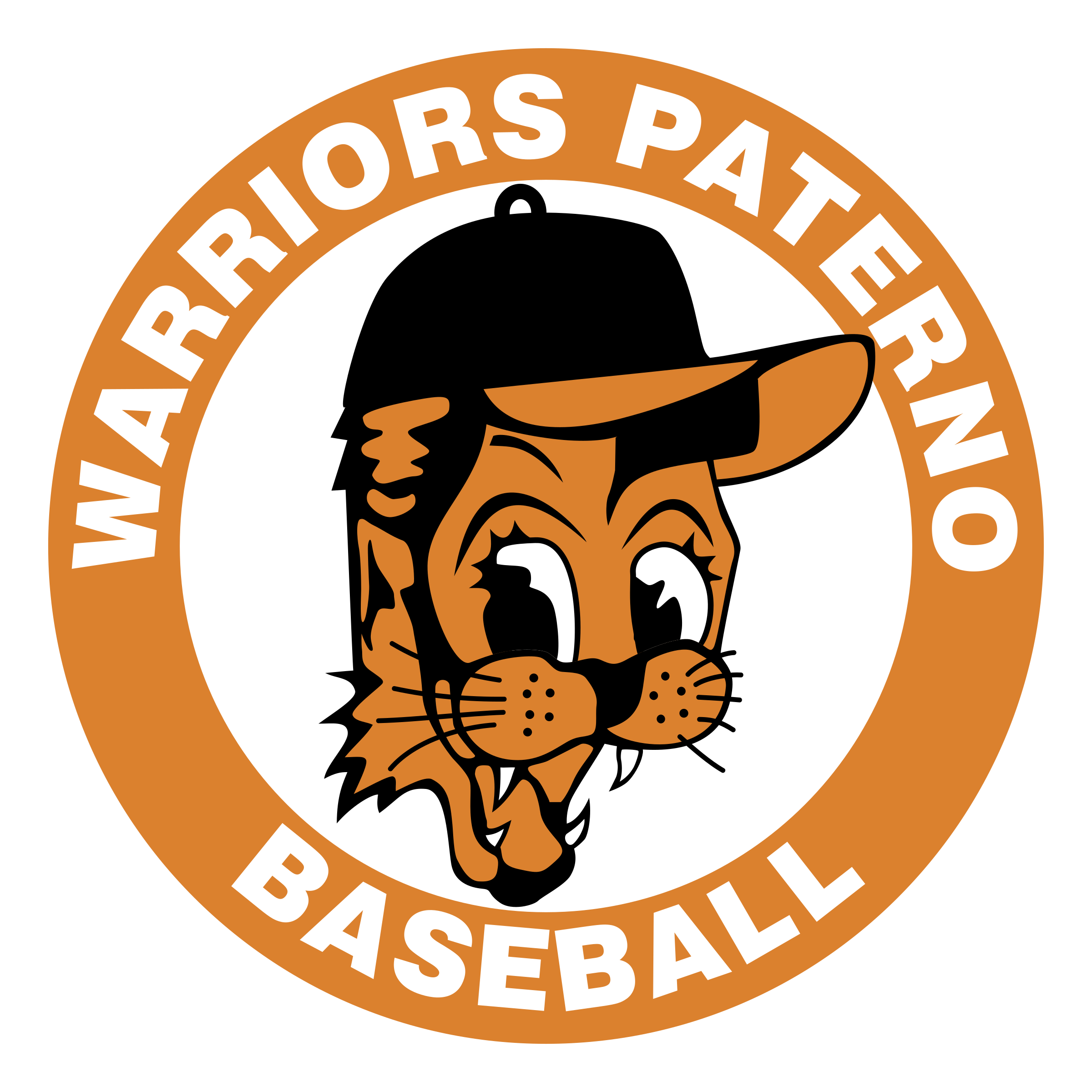 Warrior clipart warrior baseball. Warriors paterno logo png