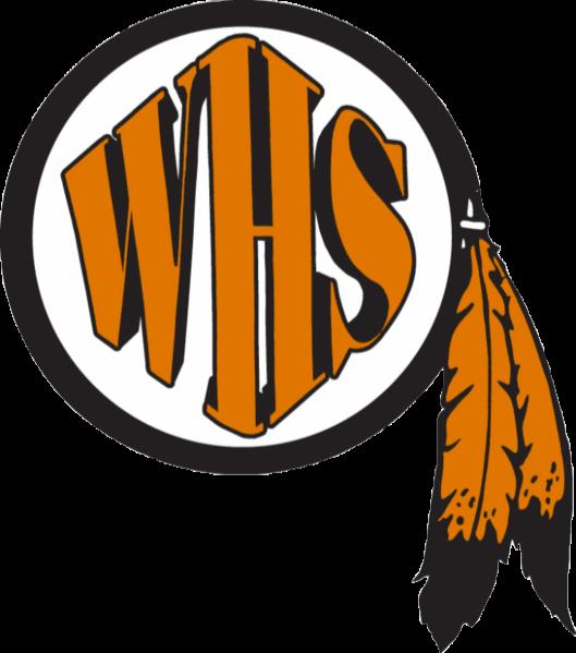 Washington high school home. Warrior clipart warrior football