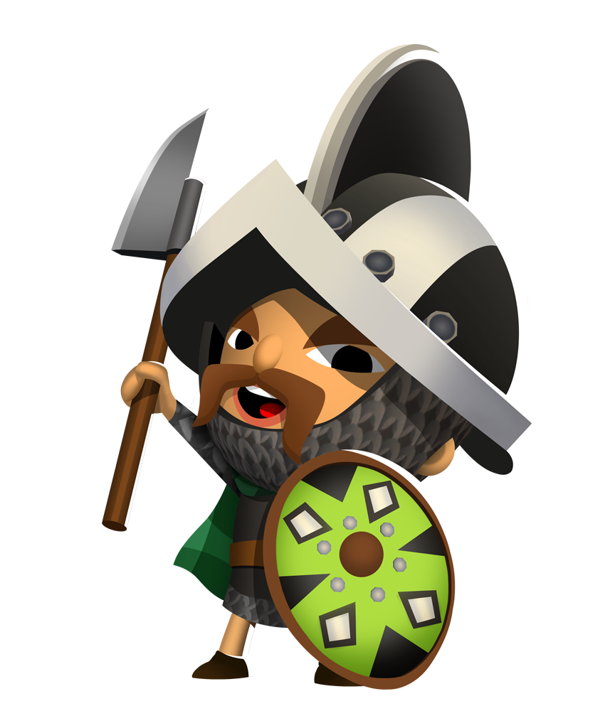 Warrior clipart warrior head. Blaine the gaelic kern