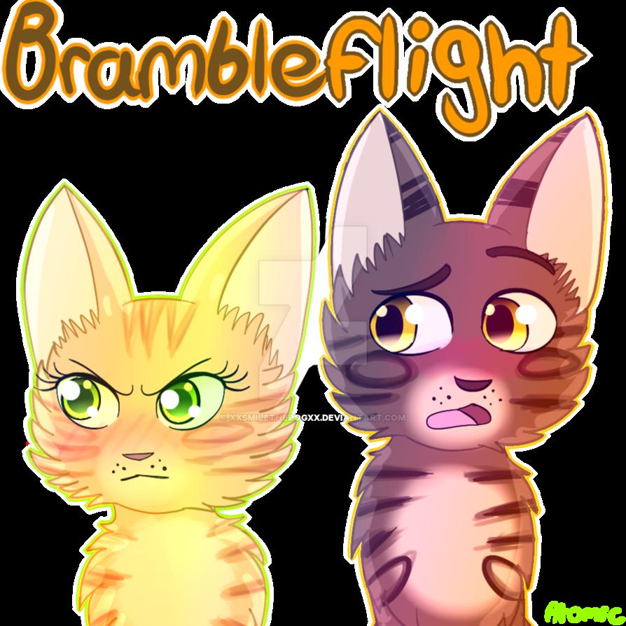 Brambleflight cats by xxsmilethedogxx. Warrior clipart warrior head