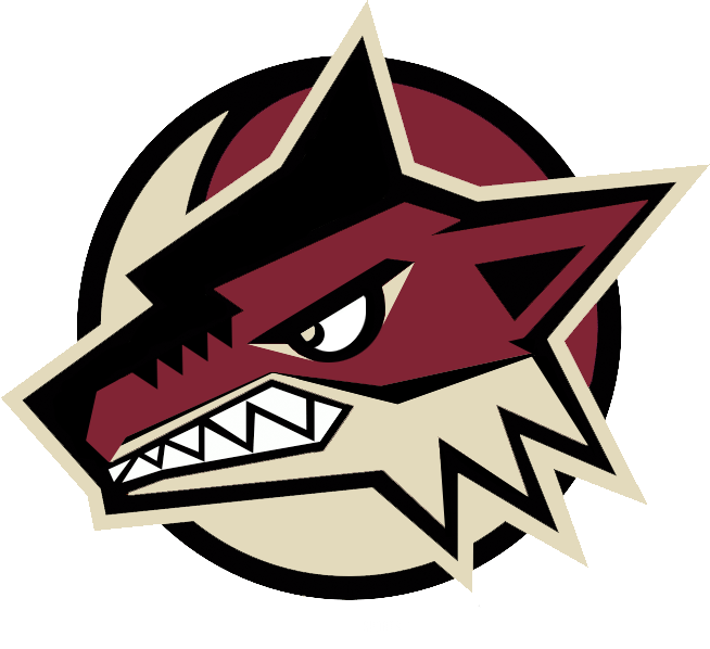 The phoenix coyotes are. Warrior clipart wordmark