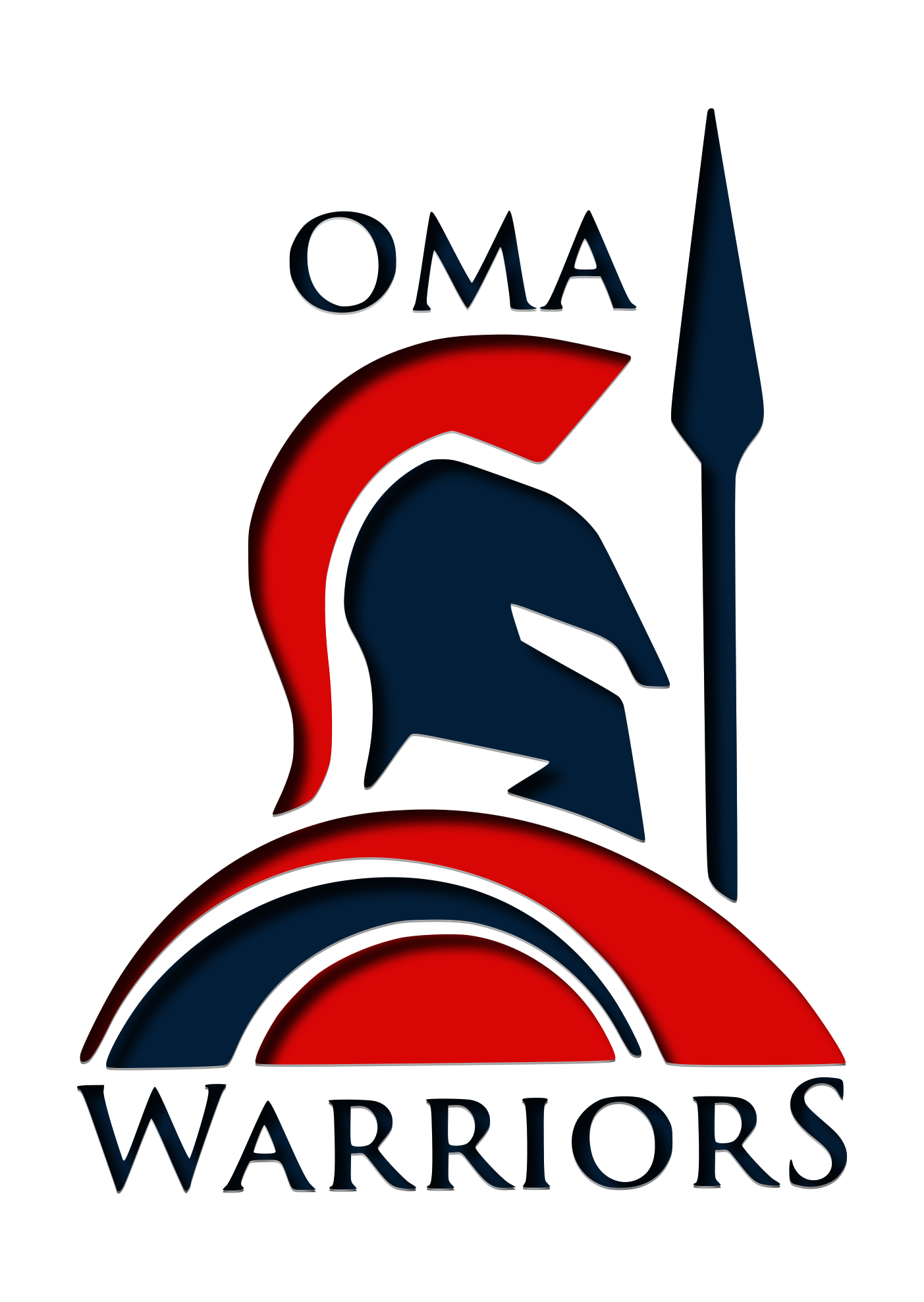 Oma warriors spirit home. Warrior clipart wordmark