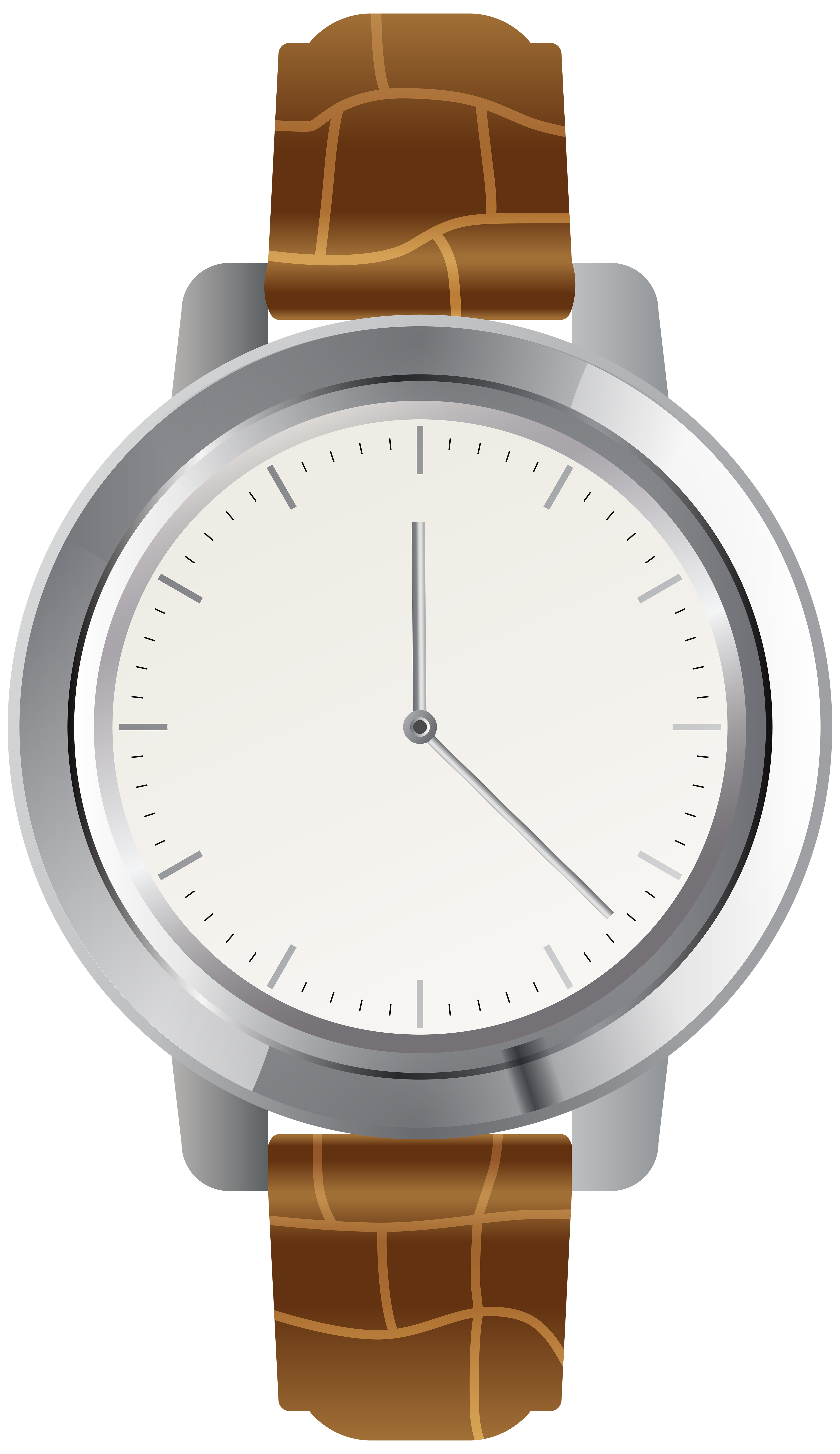 Brown wrist png clip. Watch clipart