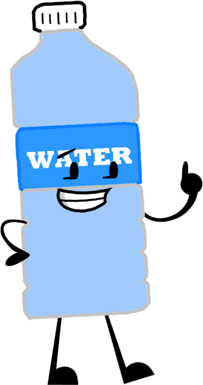 Image pose object shows. Water bottle cartoon png
