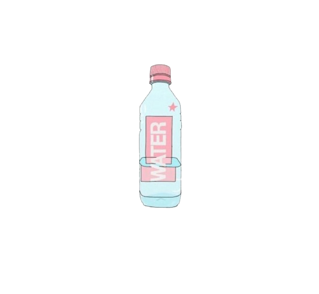 Water bottle cartoon png. Plastic mineral transprent free