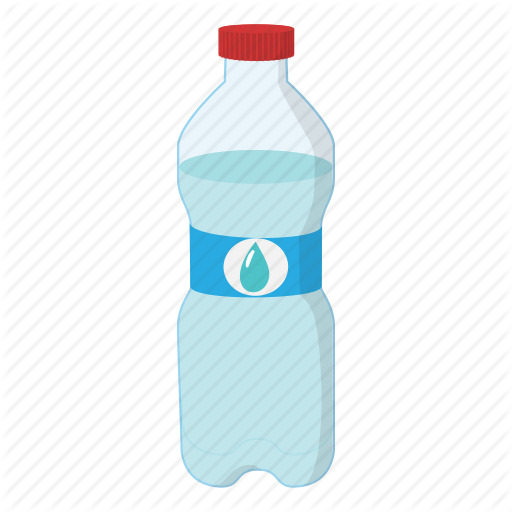 Healthy lifestyle by yulia. Water bottle cartoon png