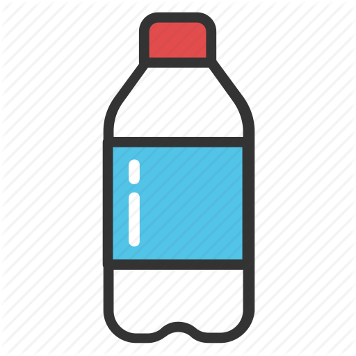 Water bottle icon png. Hotel and travel by