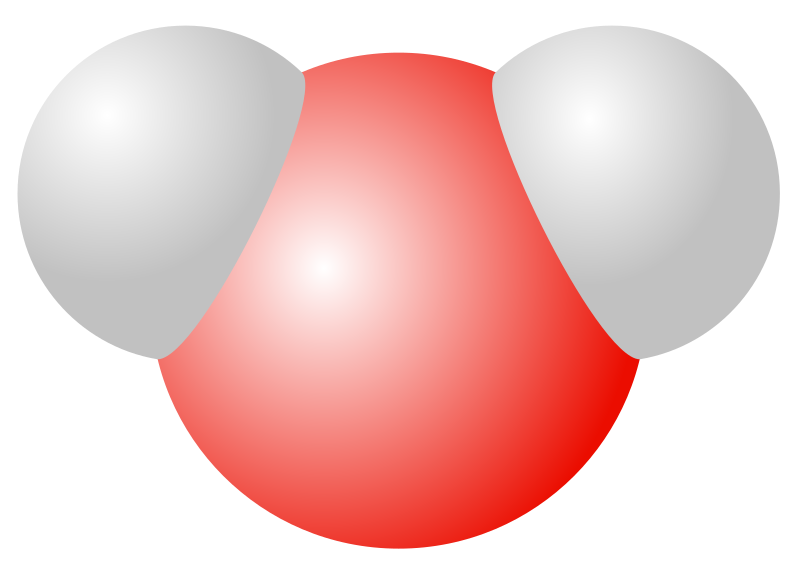 Water clipart h2o. Molecule medium image png