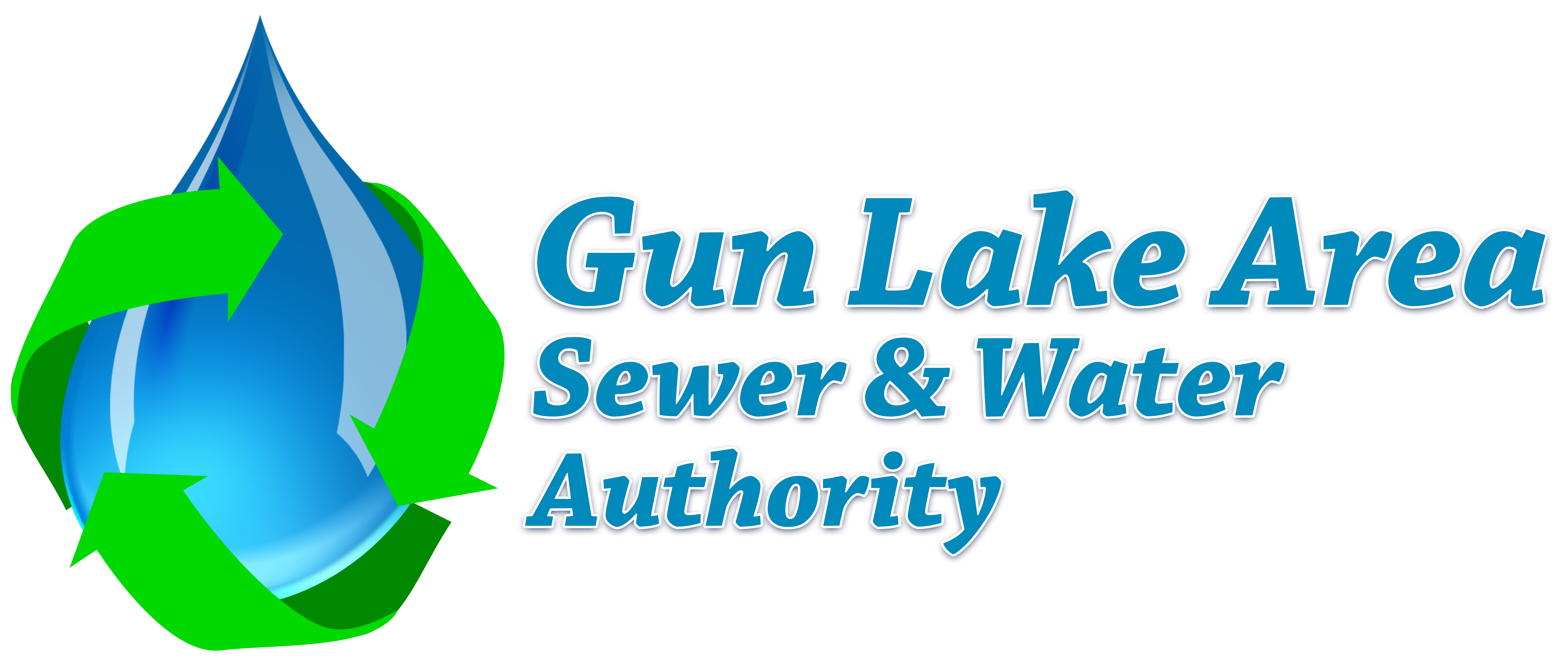 Water clipart lake. Gun area sewer authority