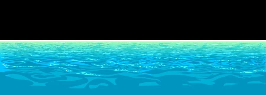 Water clipart ocean. Green grass background sea