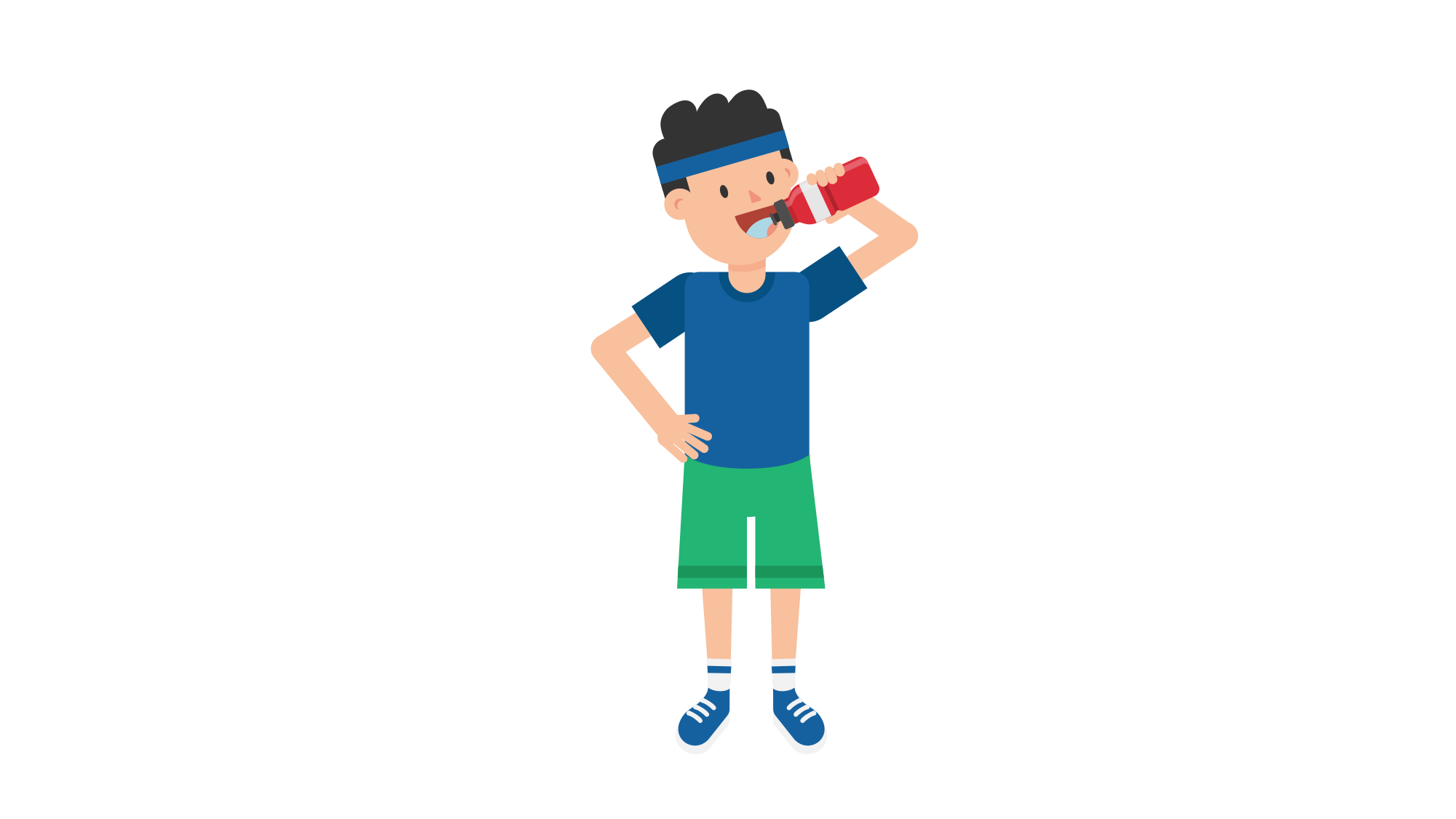 File man drinking cartoon. Water clipart potable water