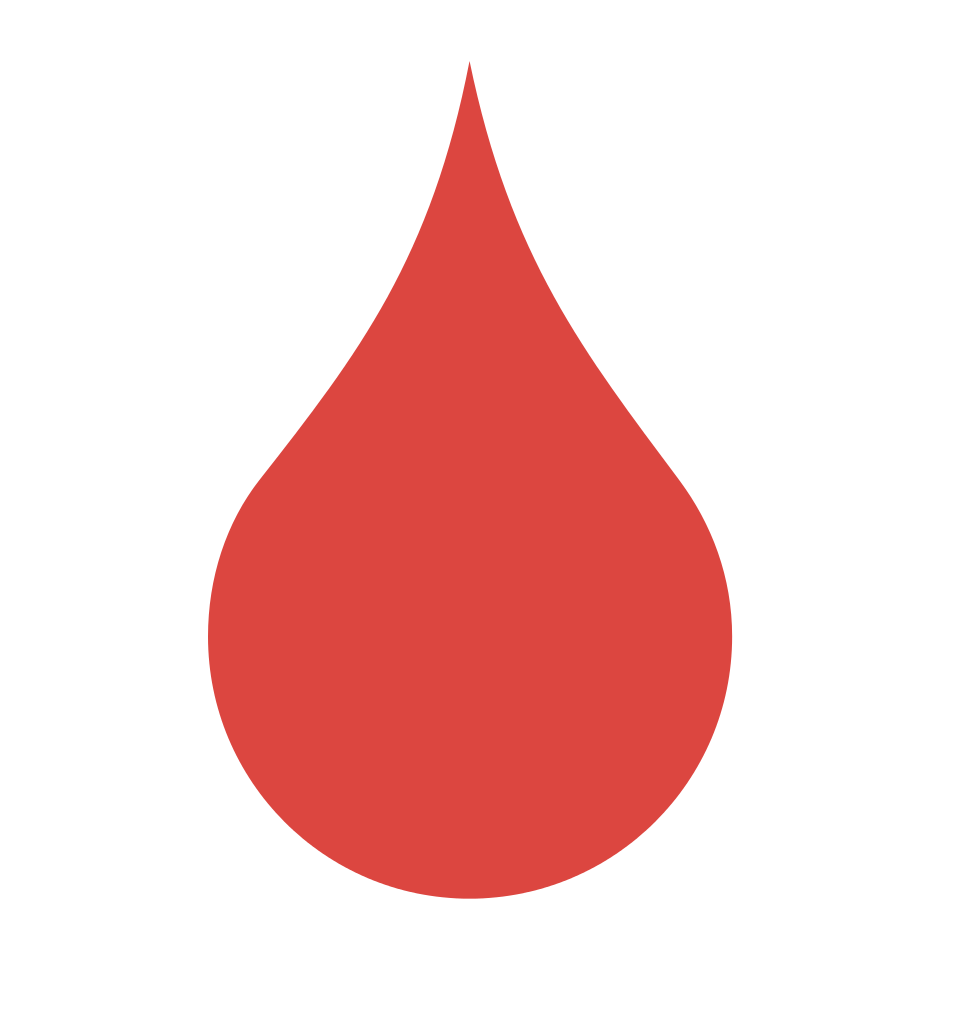 collection of blood. Water clipart red