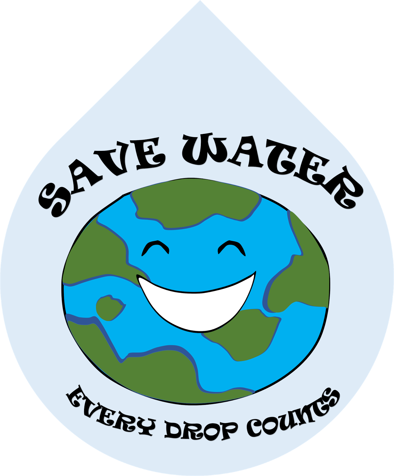 Water clipart water conservation. Efficiency poster clip art
