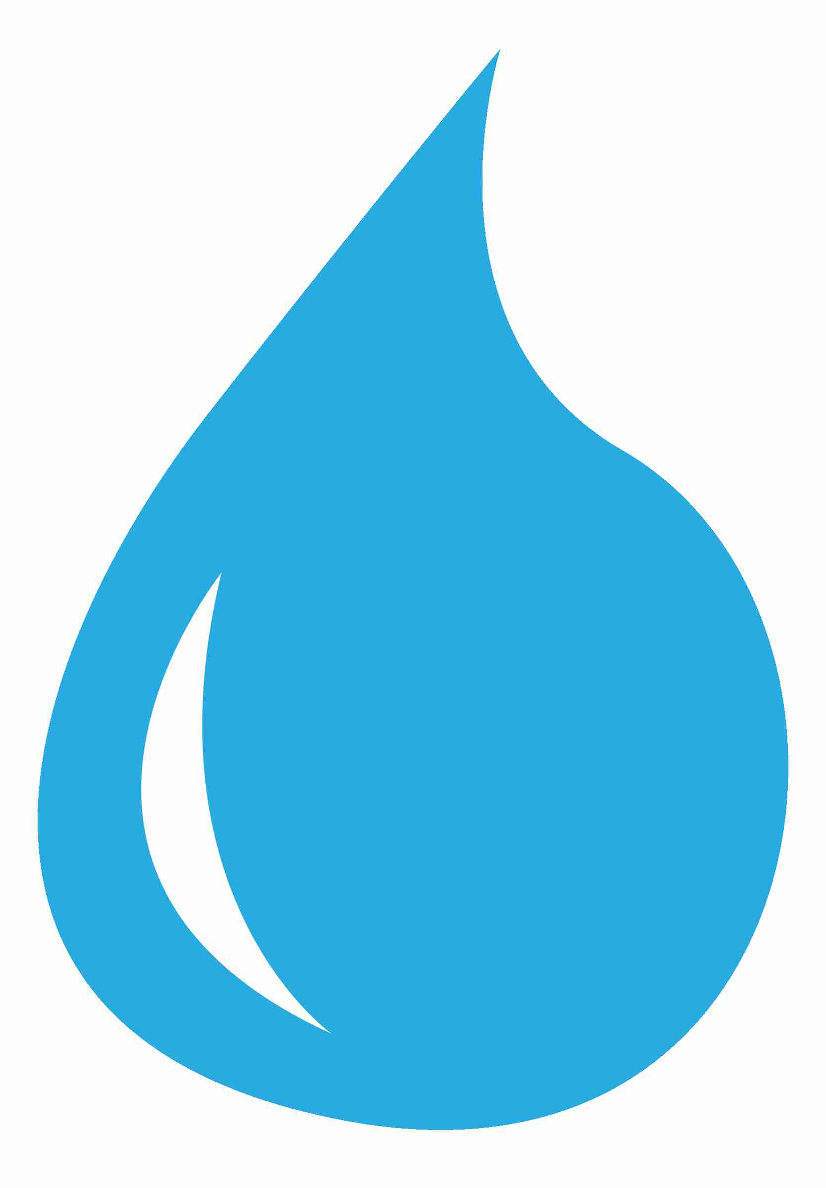 drop and spill. Water clipart
