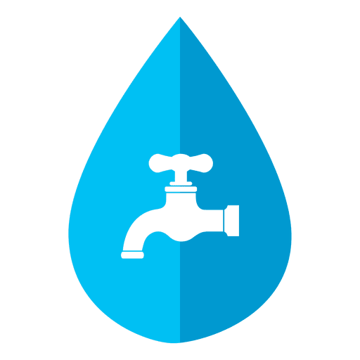 Drop tap transparent svg. Water icon png