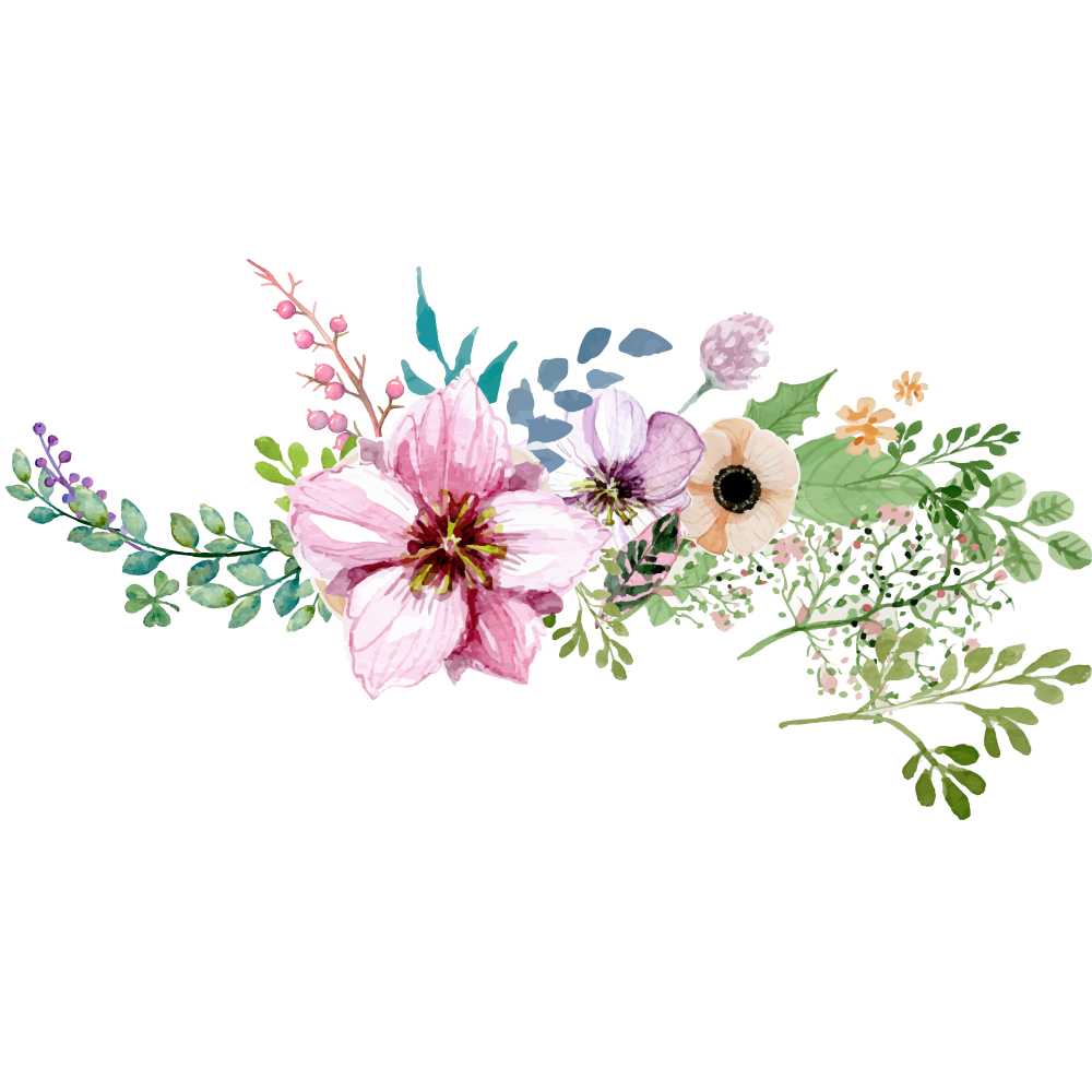 Borderround peoplepng com. Watercolor flower png