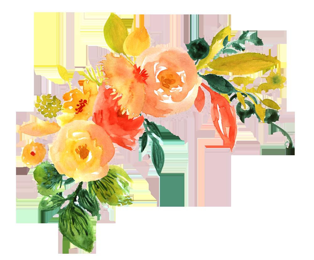 Pack peoplepng com. Watercolor flower png