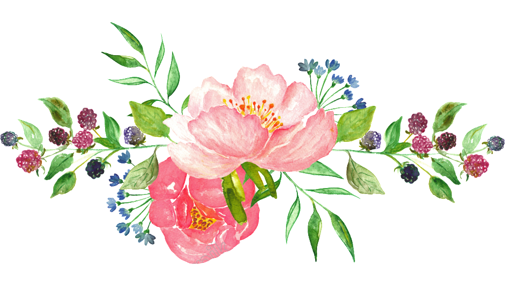 Watercolor Flowers Png Vector Psd And Clipart With: Watercolor Flower Png, Watercolor Flower Png Transparent