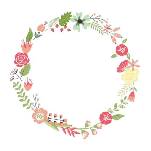 Pin by roland on. Watercolor flower wreath png