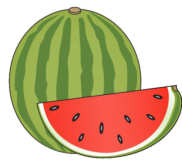 Clip art at clker. Watermelon clipart