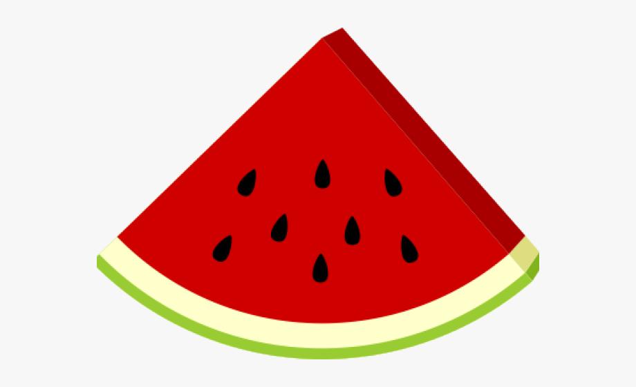 Watermelon clipart. Png clip art slice
