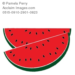 Watermelon clipart. Slice panda free images