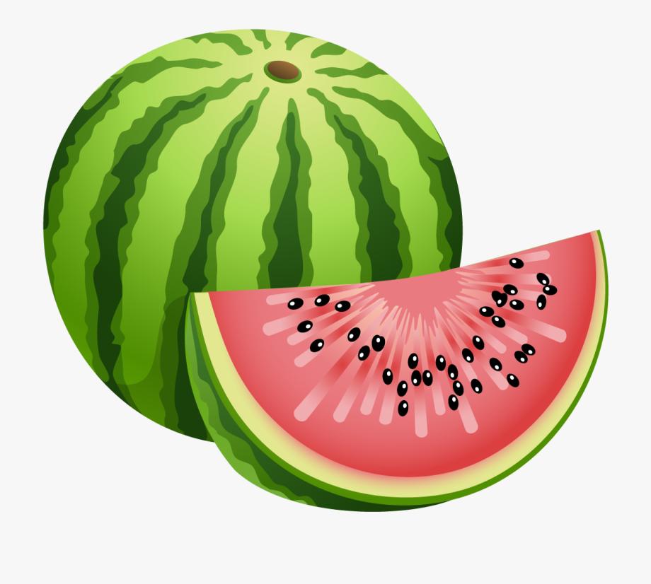Fruit clip art . Watermelon clipart