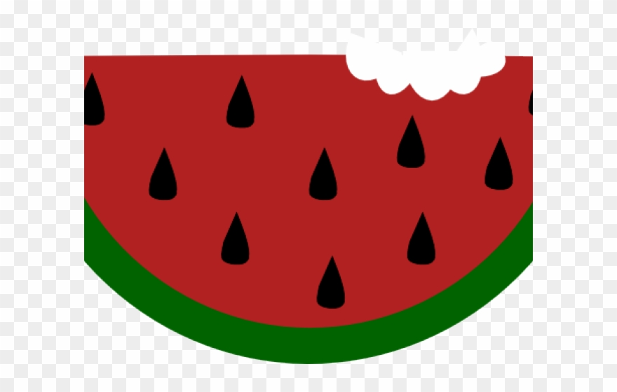Watermelon clipart apple seed. Png download