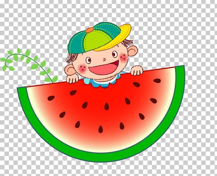 Watermelon clipart baby. Child png boy hat